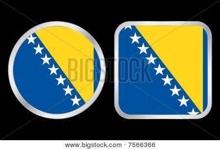 Bosnia And Hercegovina Flag Icon
