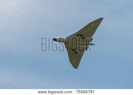 Scale Model Vulcan Bomber