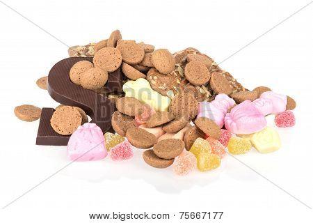 Sweets Of Dutch Children's Party Sinterklaas At 5 December