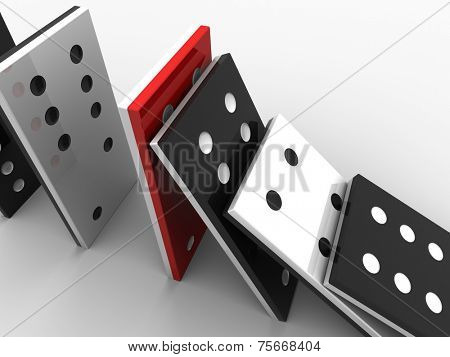 domino stones