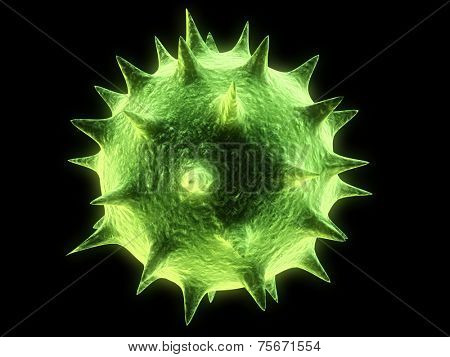 illustration of a virus