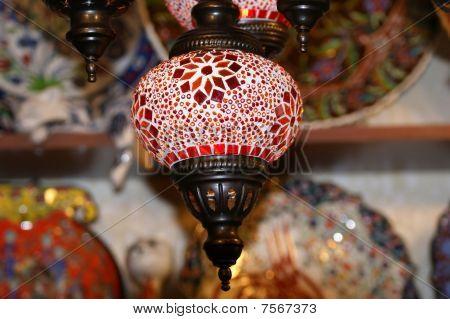 Turkish Lamps In Grand Bazaar, Istanbul, Turkey