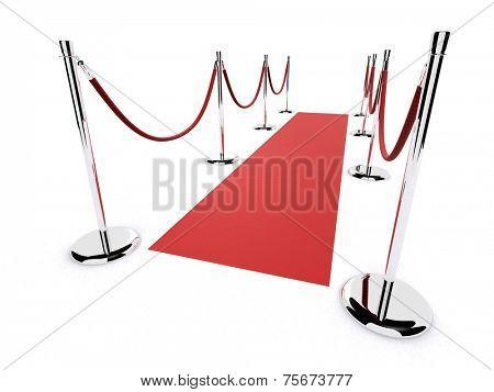 red short carpet