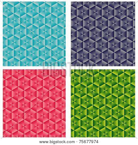 4 Diamant Patterns