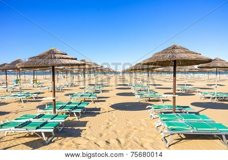 Rimini Beach,italy