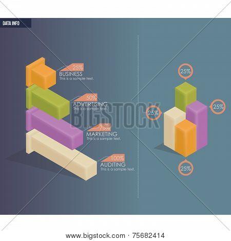 Modern Design Bar Charts