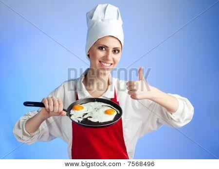 Very Good Frying Egg