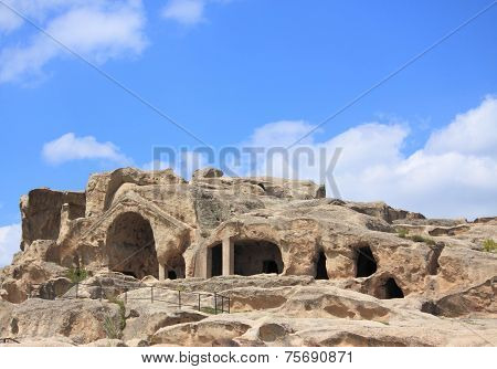 Cave ancient pagan city Uplistsihe