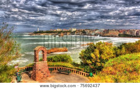 Park In Biarritz - France, Aquitaine