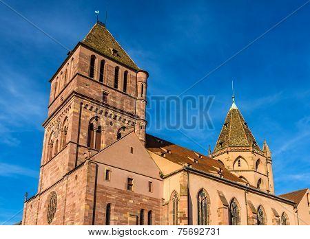 Saint Thomas Church In Strasbourg - Alsace, France
