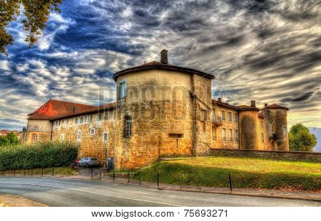 Chateau-vieux (old Castle) In Bayonne, France