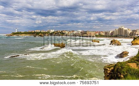 View Of Biarritz - France, Aquitaine