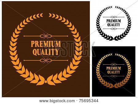 Premium Quality laurel wreath icons