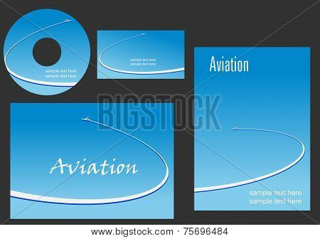 Template elements for Aviation design