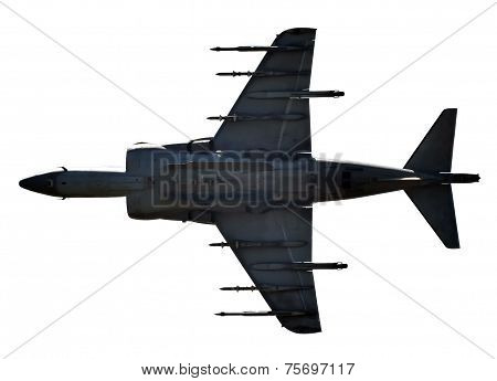 Jetfighter Isolated On White