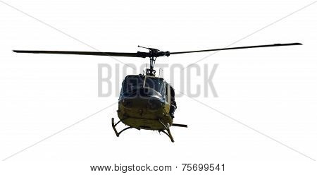 Helicopter Front View