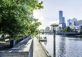 picture of cbd  - Melbourne city in Australia - JPG