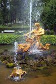 stock photo of samson  - fountain Triton - JPG
