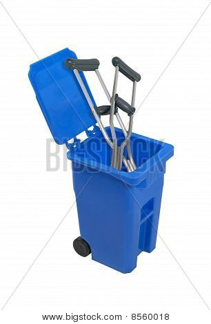Recycled Crutches