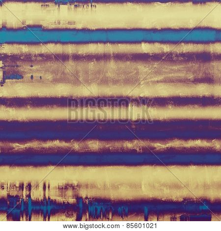 Abstract old background with rough grunge texture. With different color patterns: yellow (beige); brown; purple (violet); blue