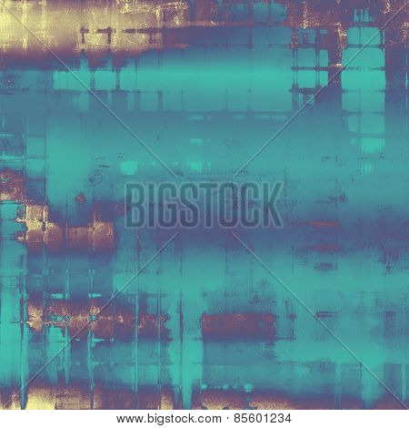 Grunge retro vintage texture, old background. With different color patterns: yellow (beige); purple (violet); blue; cyan