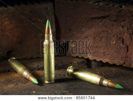Three Armor Piercing Cartridges