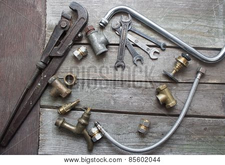 Plumber table components.