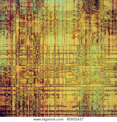 Grunge old texture as abstract background. With different color patterns: yellow (beige); brown; purple (violet); cyan