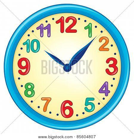Clock theme image 3 - eps10 vector illustration.