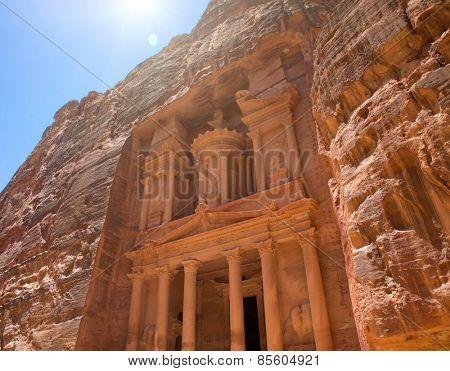 Al Khazneh in Petra, Jordan