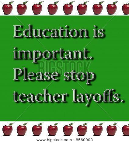 Education Announcement