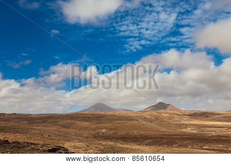 landscape of the Canary Islands