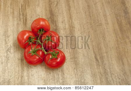 tomatoes on the table