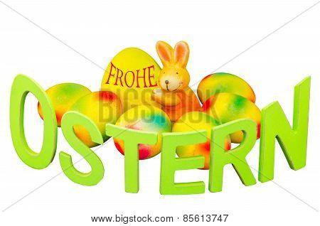 Easter Eggs, Easter Bunny