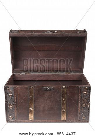 Open Wood Chest