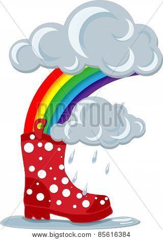 Gumboot & Rainbow