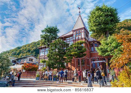 Kitano District in Kobe Japan