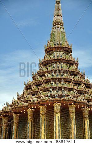 Phra Mondop Library Royal Palace Bangkok
