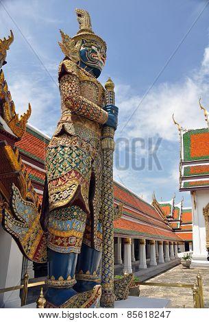 Grand Palace Statue Bangkok