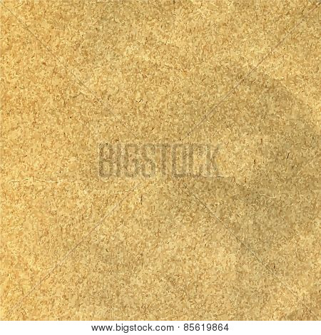 Old Beige Paper Texture Or Background Vector