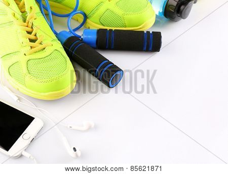 Different tools for sport close up