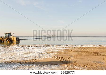 Pipe In Sea