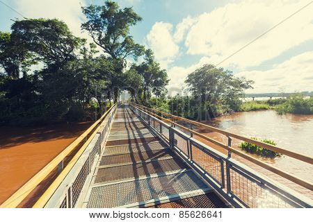 Iguassu Falls trail