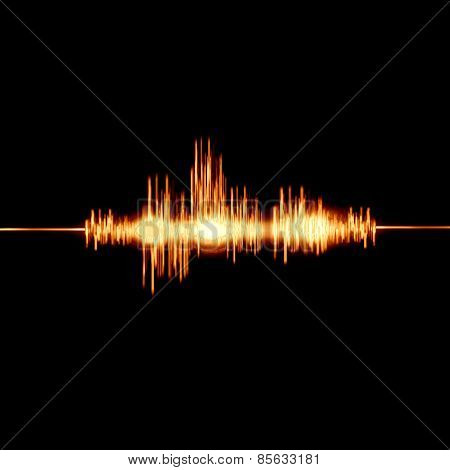 fiery sound waves