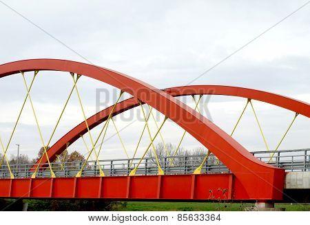 Steel Road Bridge