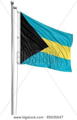 3D Bahamas flag