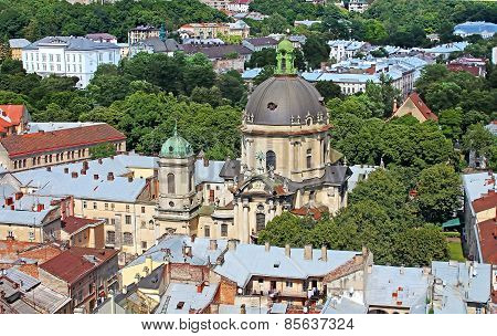 Dominican Cathedral In Lviv, Ukraine