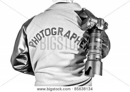 Photographer Jacket And Camera