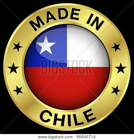 Chile Made In Badge