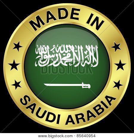 Saudi Arabia Made In Badge